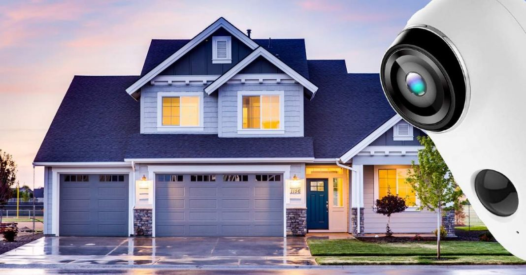 home alarm system with cameras