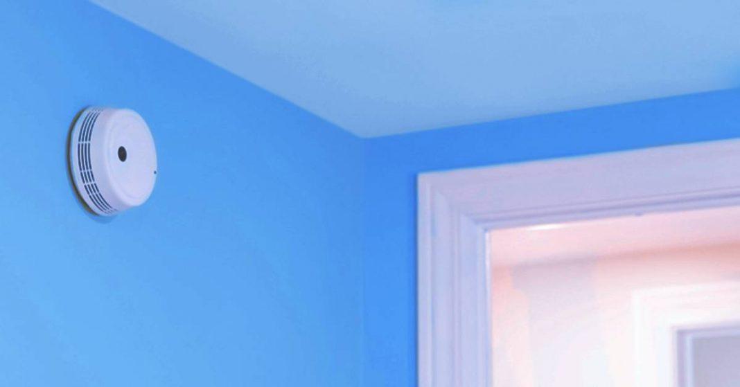 where to install smoke detector