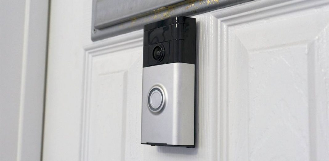 where to install ring doorbell